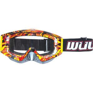 Wulf Wulfsport Adult Mx Motorcross Geo Anti Scratch Lens Quad Bike