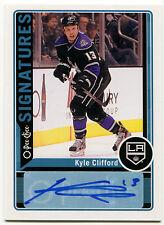 2012-13 Upper Deck O Pee Chee Signatures KYLE CLIFFORD Auto OPC Rare SP 1:192