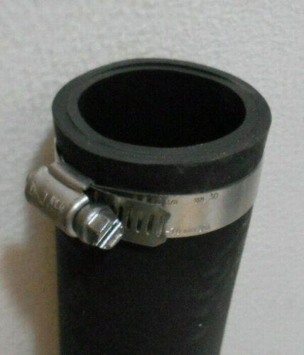"""1 1//2/"""" Quick Connect Sump Pump Rubber Hose 10 1//2/"""" Long 436566 1 1//4/"""""""