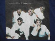 BOYZONE Father & Son rare tour merchandise T shirt vintage collectable westlife