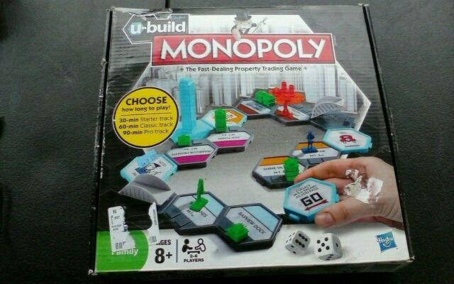 U-build monopolio Juego De Mesa Nuevo Y Sellado