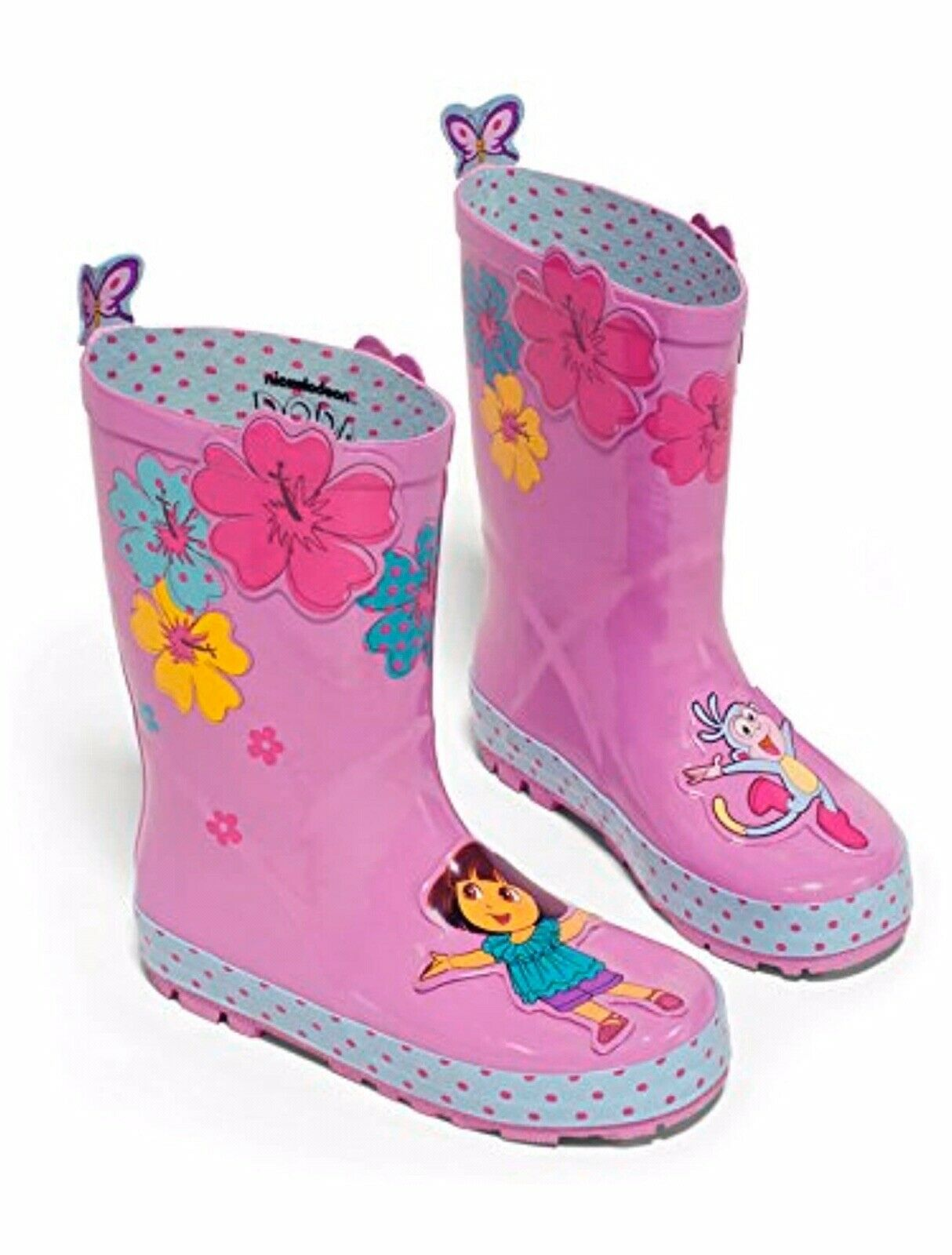 Kidorable Dora the Explorer Rain Boots