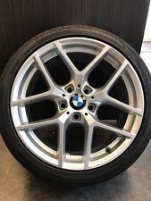 4X BORBET Y 8x18 ET34 Silber 3er BMW E90 E91 E92 F30 F31 E46