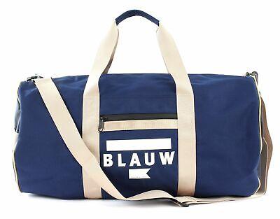 Scotch & Soda Ams Blauw Off Duty Bag Borsa Sportiva Borsa Combo A Blu Beige Nuovo-mostra Il Titolo Originale Ricco E Magnifico