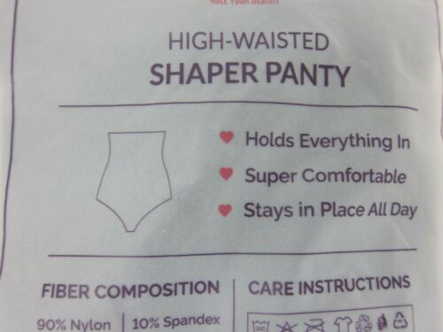 Details about  /Empetua Women/'s High-Waisted Shaper Panty Small Black  NWT