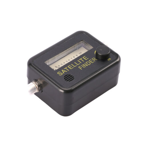 Satellite Finder Find Alignment Signal Meter Receptor For Sat Dish TV EPBLUS