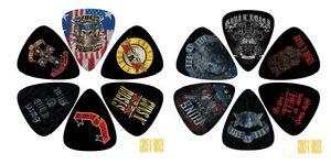 Perri-039-s-Picks-Plectrums-12-pack-Guns-amp-Roses-LP12-GNR1