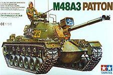 35120 TAMIYA U.S. m48a3 PATTON 1/35th KIT IN PLASTICA KIT DI MONTAGGIO 1/35 Militare