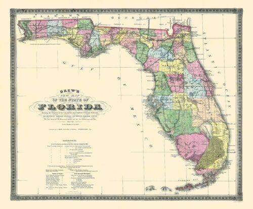 Drew 1870-27.75 x 23 Florida
