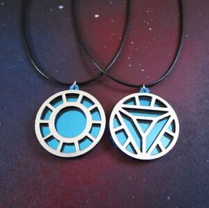 Image Is Loading Your Choice Ironman Arc Reactor Cosplay Pendant Necklace