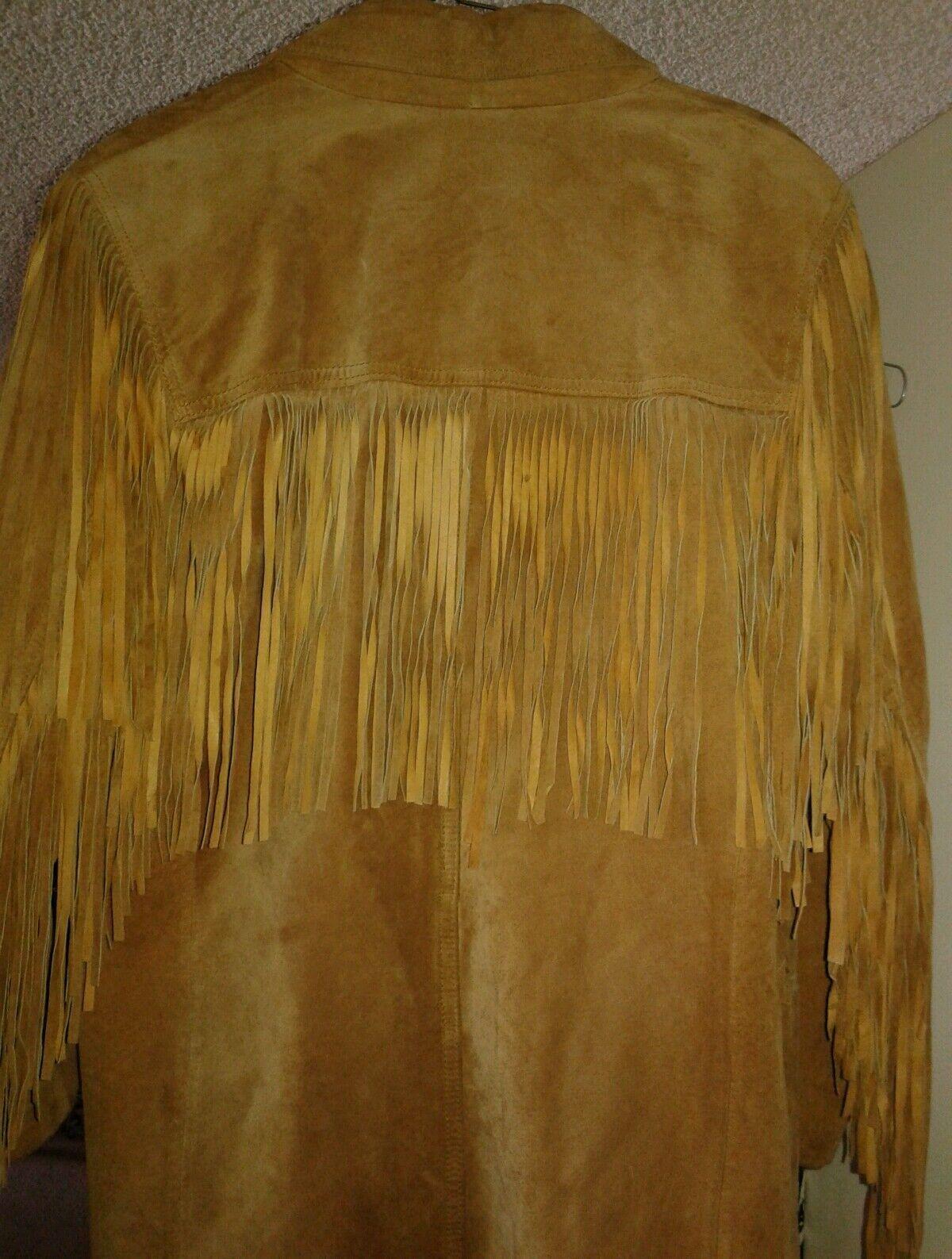 la nauicelle Renaissance Leather fringed Jacket - image 3