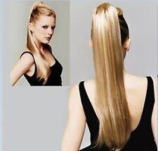 Platinum mix Honey Blonde HAIR PIECE Ponytail Extension