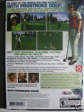 prostroke golf world tour 2007 psp
