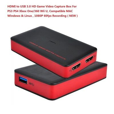 Support Live Streaming HDMI Video Capture Card Device with HDMI ...