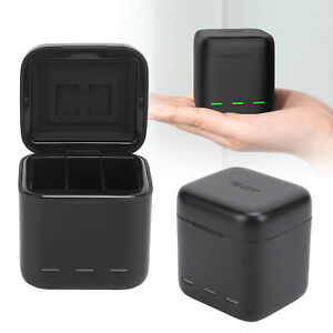 TELESIN Camera Battery Charger Battery Charging Case Box for GoPro Hero 9 Camera