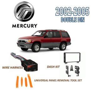 fits 2002 2005 mercury mountaineer install dash kit wire harness rh ebay com