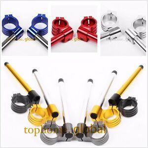 For 43mm Fork Clip Ons Handle Bar Riser Regular R6 1999 2000 2001 2002 2003 2004