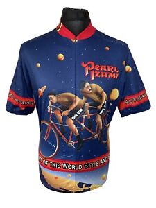 Pearl iZumi Cosmic Velo Space Planets Cycling Jersey Shirt Short Sleeve L