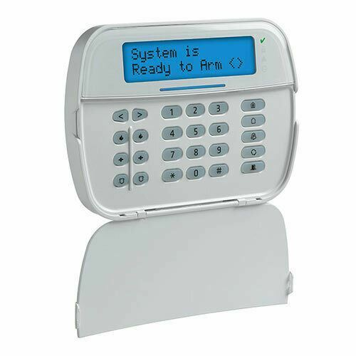 DSC HS2LCDWF9 Wireless Full Message LCD PowerG 2-Way Wire-Free Keypad