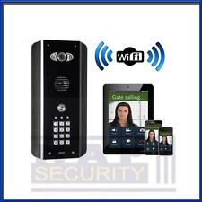 AES - WIFI & 3G SMART PHONE COMPATIBLE WIRELESS DOOR ENTRY KIT 1-BUTTON