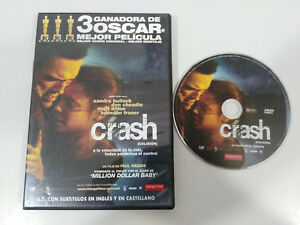 CRASH-COLISION-SANDRA-BULLOCK-MATT-DILLON-DVD-ESPANOL-ENGLISH-REGION-2