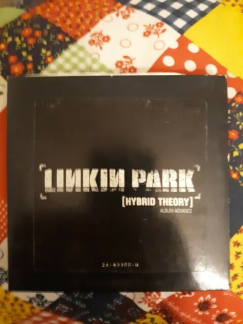 Linkin Park Hybrid Theory Album Advance Rare 2000 Wb Promo Cd 2a 47755 B