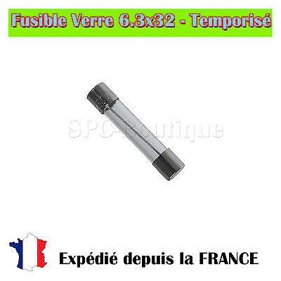 5x delayed fuse 6,3x32mm 250v 4a Amps Delayed fuses 6,3x32