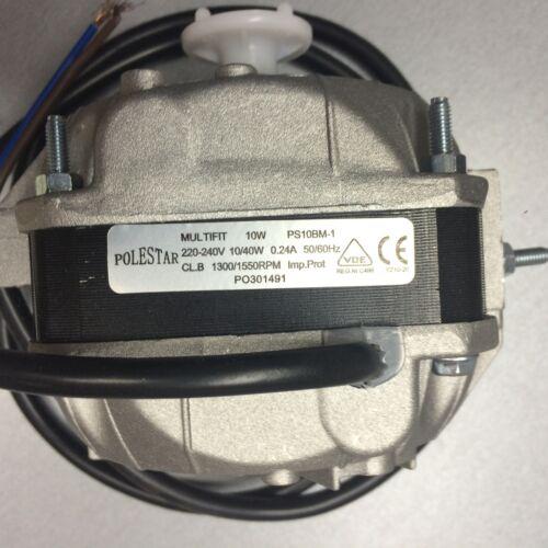 SHADED POLE PS10BM-1 BALL BEARING MOTOR NEW MULTI-FIT 10W FAN MOTOR 240V