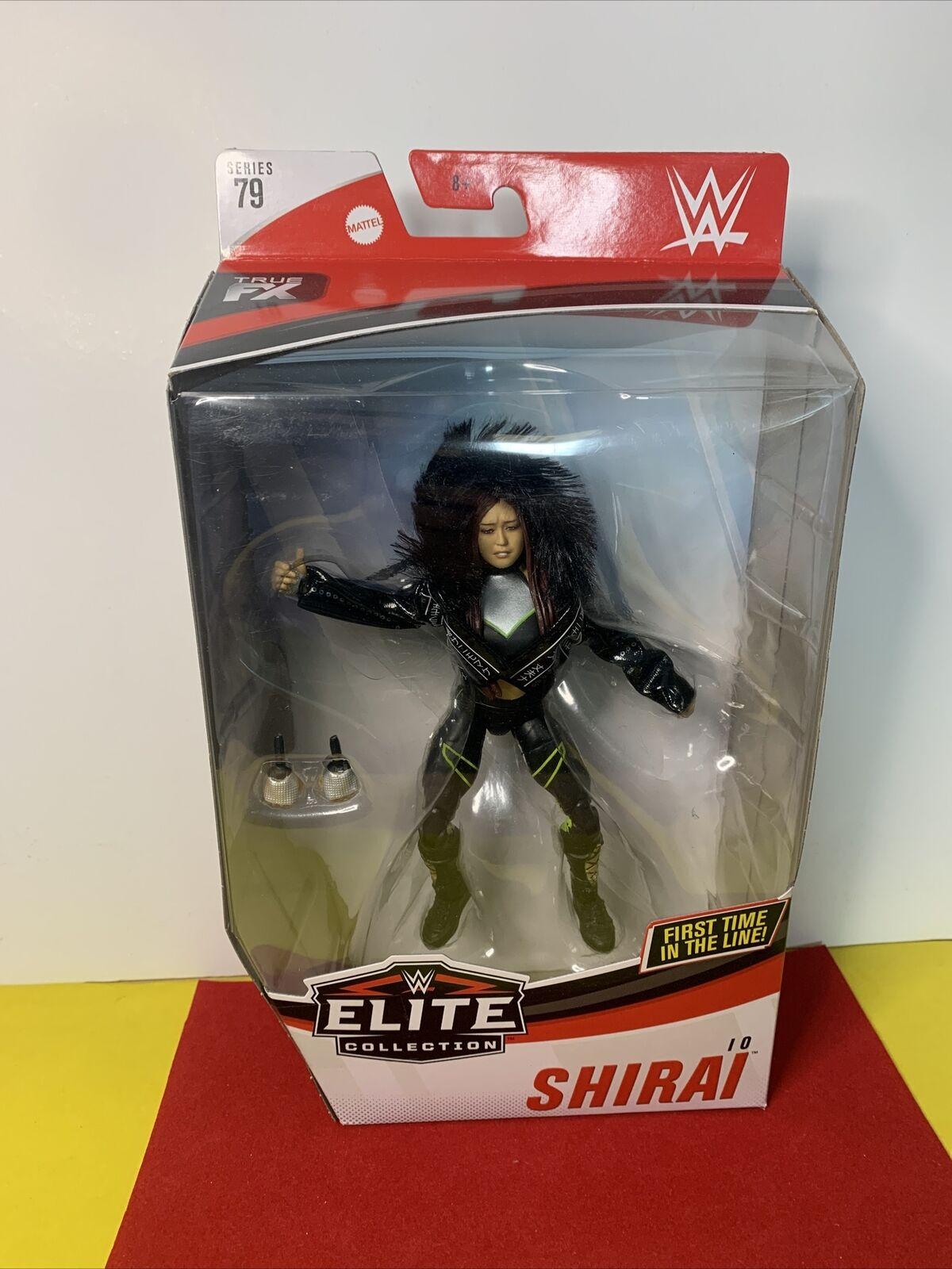 Io Shirai WWE Mattel Elite Series 79 Action Figure NIB New Sealed NXT Wrestler