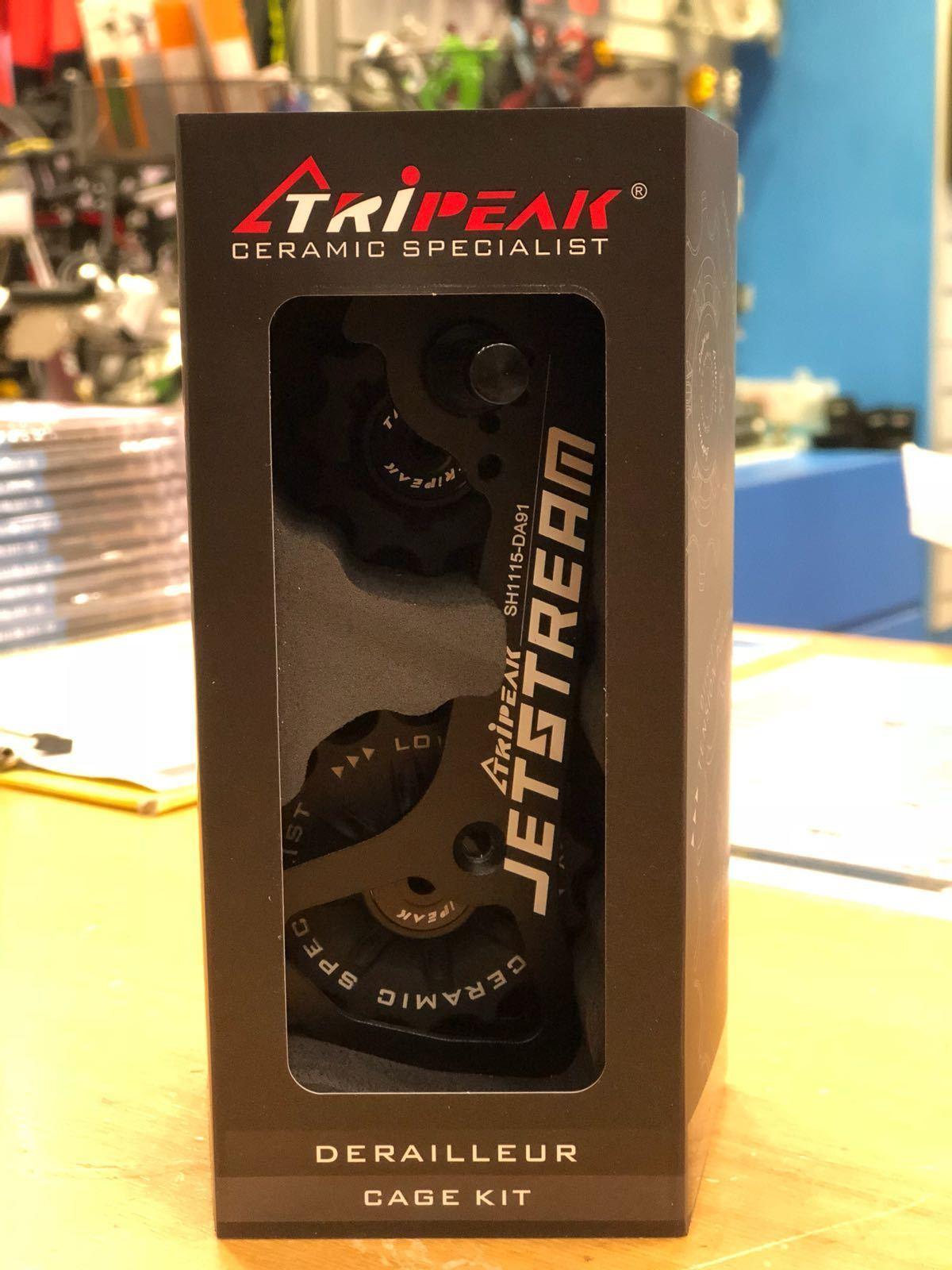 Tripeak Oversize Derailleur Cage Kit 11-15 Tooth Super ceramic For Shimano 91 80