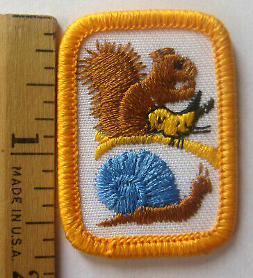 Rare Girl Scout Senior 1983-1996 PLANT CULTURE Interest Project Patch Badge IP