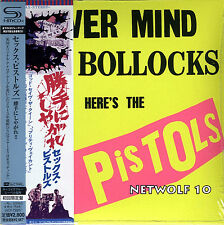 Sex Pistols - Never Mind The Bollocks - SHM-CD - HR Cutting - Japan OBI - Sealed