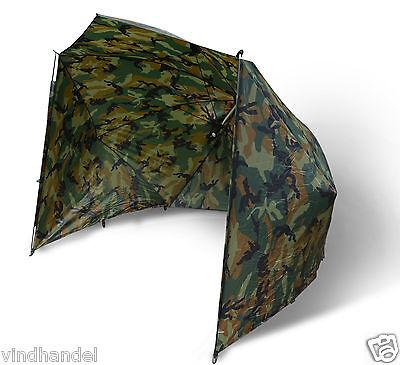 Zebco Brolly Angelschirm Schirmzelt Schirm Karpfenzelt  Karpfenschirm 220 Camou
