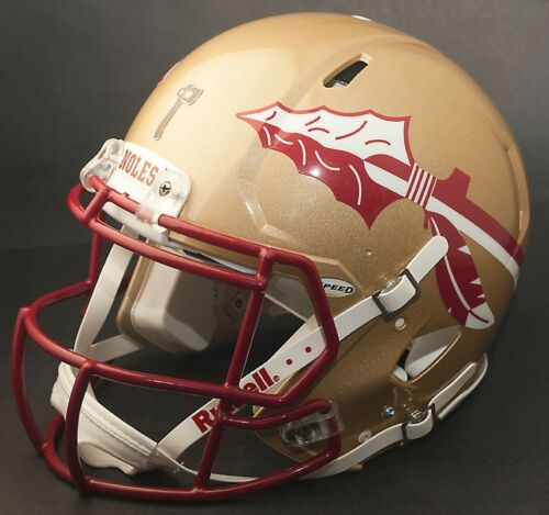 FLORIDA STATE SEMINOLES NCAA Riddell SPEED Full Size Authentic Football Helmet