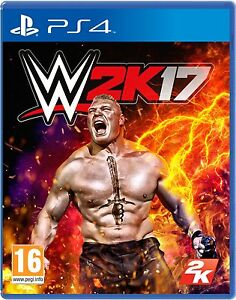 WWE-2K17-PS4-Game-BRAND-NEW-SEALED