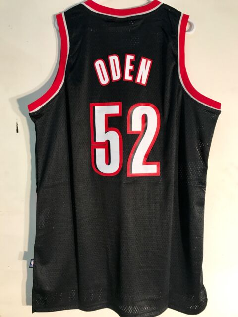 021976e0c Adidas Swingman NBA Jersey Portland Trailblazers Greg Oden Black sz XL