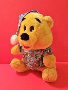 5477439ba1a5 Image is loading Winnie-The-Pooh-Bear-in-Pajamas-Stuffed-Plush-