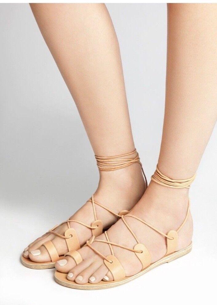 Splitter Splitter Splitter ny antik grekisk sandalsstorlek 6  njuter av din shopping
