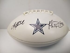 4d0f8a0be64 Image is loading Troy-Aikman-and-Michael-Irvin-Signed-Autographed-DALLAS-