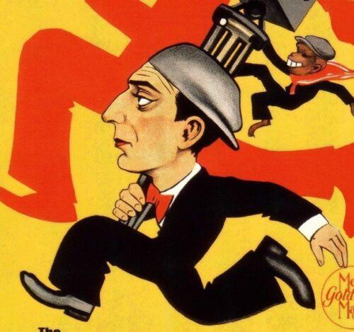 Buster Keaton The Cameraman 1928 Vintage Poster Print Retro Movie Film Art
