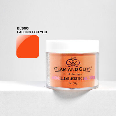 Falling For You 2oz Quell Summer Thirst Nail Care, Manicure & Pedicure Glam And Glits Color Blend Nail Powder Bl3083