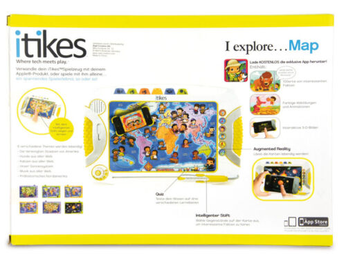 iTikes Map Explorer für Kinder kompatibel mit iPad iPhone, Set 5 Stck !