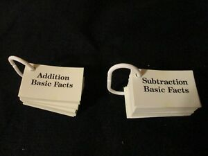 Pearson Scott Foresman Addition Basic Facts 0-20 Flash Cards on Ring