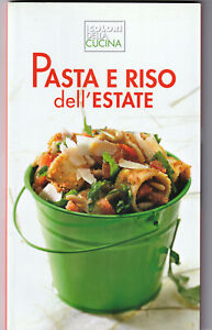 LIBRO-Pasta-e-Riso-dell-039-Estate-I-Colori-della-Cucina-COPERTINA-FLESSIBILE