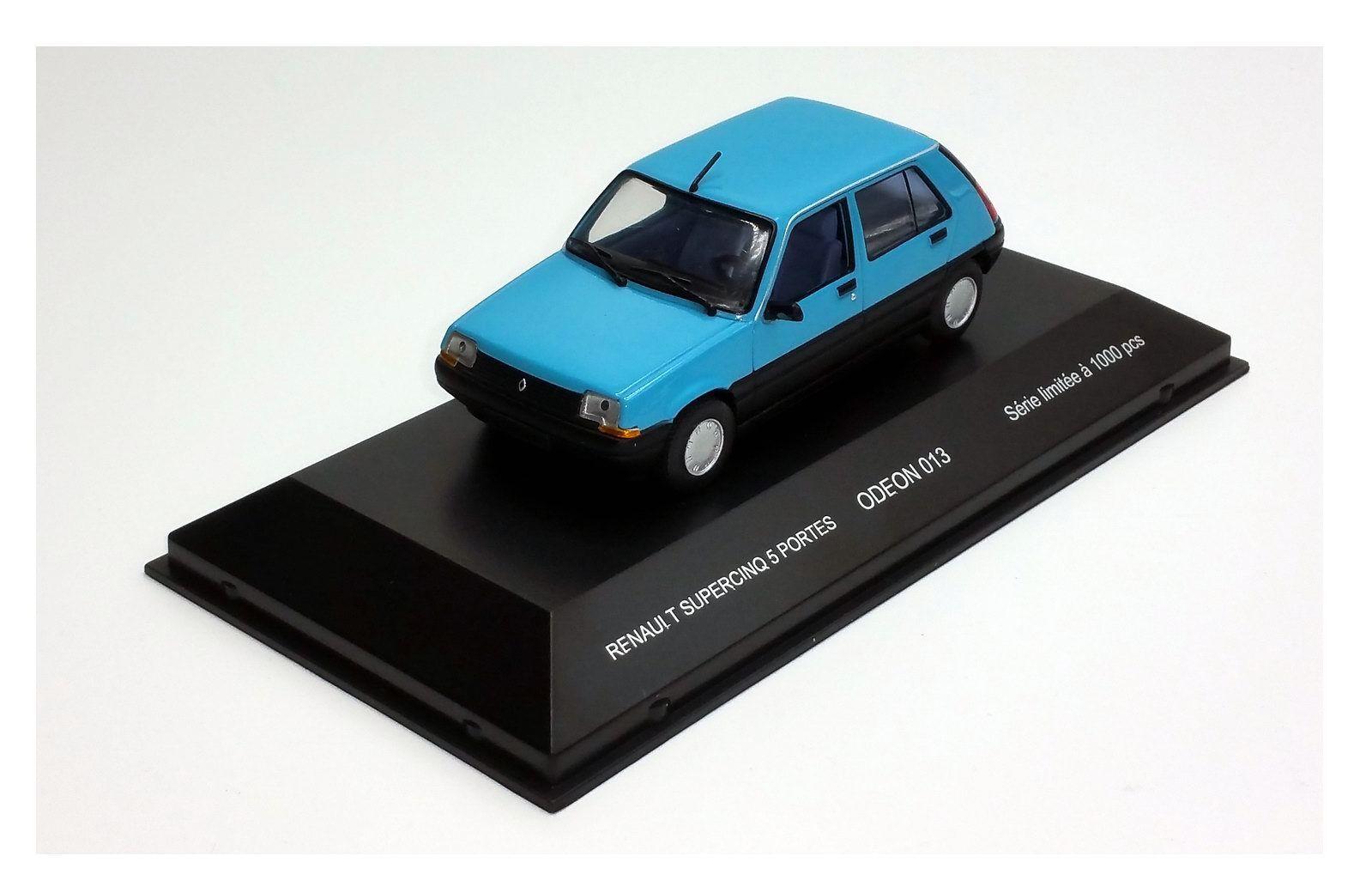 Car RENAULT SUPER 5 GTL 1985 ODEON 1 43 Edition Limited 1000 PCS Renault 5