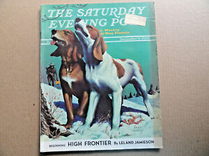 Saturday-Evening-Post-Magazine-December-9-1939-Complete-Hunting-Dogs-Cover