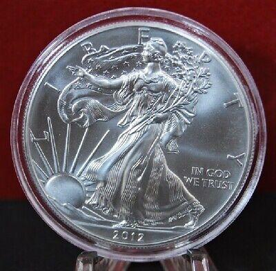 2001 Silver American Eagle BU 1 oz Coin US $1 Dollar Uncirculated Brilliant Mint