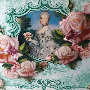 Handmade-3D-decoupage-Marie-Antoinette-Mum-or-friends-Birthday-card