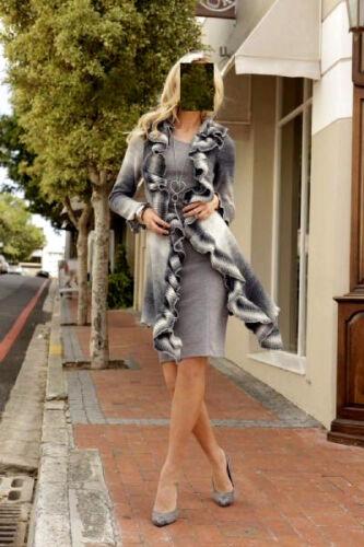132 hinguker Premium Donna Tunica Maglietta Top Blusa Felpe Pullover XL 46 48 50