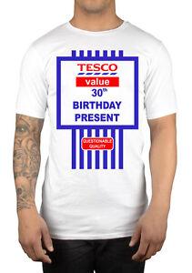 Image Is Loading Tesco Value Happy 30th Birthday Present T Shirt